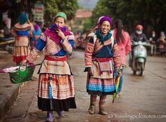 01_Flower Hmong Women, Bac Ha Market, Vietnam