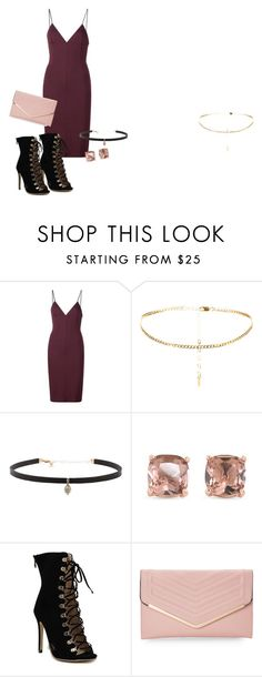 """""""Dinner"""" by grraciie-386 on Polyvore featuring T By Alexander Wang, Carbon & Hyde, Carolee and Sasha"""