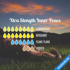 Xtra Stength Inner Peace - Essential Oil Diffuser Blend