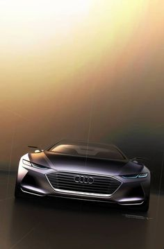 Audi Concept prologue. More car design here.