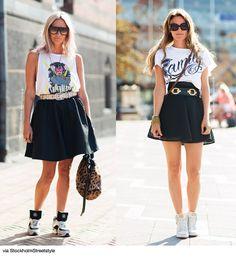 Skater Skirt + Tee