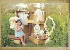 Mini session idea-dress up time!  Dress up with my daughter Photo Prop Idea Children / Toddler