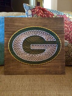 Green Bay String Art www.facebook.com/stringartdesigns
