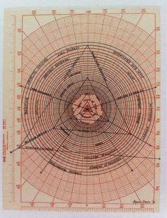 Agnes Denes, Evolution II.- Paradox & Essence, 1976