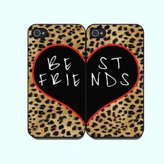 Best Friends With Leopard Pattern--.. on Luulla @joanna shoemaker we need these!