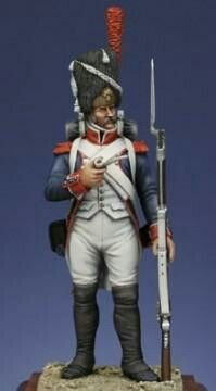 Grenadier with Cap - (Line Infantry) Online Purchase, Samurai, Ronald Mcdonald, Cap, Superhero, Napoleonic Wars, Fictional Characters, Troops, French
