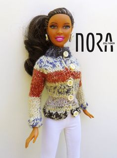 Nora--adorable crochet sweater for dolls