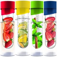 Drinking water just got YUMMY...FRUIT INFUSED WATER BOTTLES – ON SALE I want one