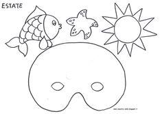 maestra Nella: carnevale Ocean Crafts, Snoopy, Kids Rugs, Seasons, School, Fictional Characters, Weather, Carnival, Drawings