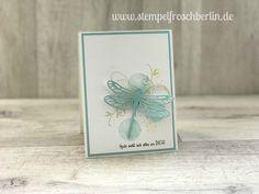 Geburtstagskarte mit Libelle von Stampin`Up!