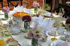 Bridal Shower Tea Party | That Organic Girl
