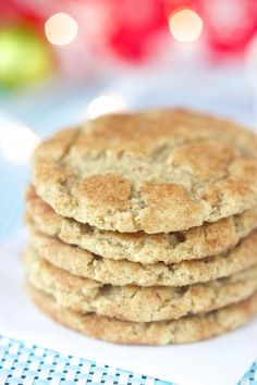 vegan gluten free snickerdoodles recipe