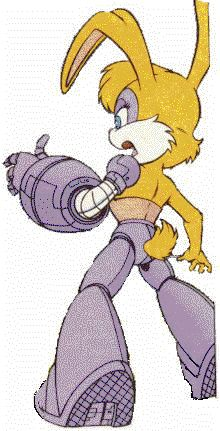 Bunnie rabbot as I remember her. Great detail on the armor. Sonic Satam, Sonic Art, Sally Acorn, Sonic Heroes, Archie, Smurfs, Sonic The Hedgehog, Spiderman, Bunny