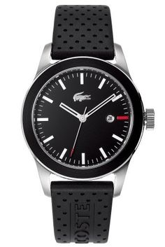 Lacoste watch: Men's Advantage - Black/Black