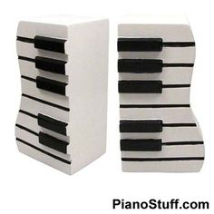 1000 images about piano gifts on pinterest piano player piano and music gifts - Piano bookends ...