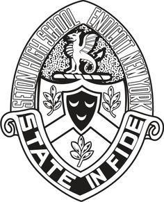 Seton Catholic High School ( Endicott ) Crest : The Royals Catholic High, Catholic School, Porsche Logo, Schools, Royals, High School, Logos, Grammar School, School