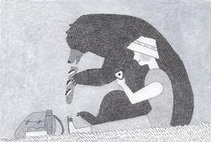 「神様」挿絵4