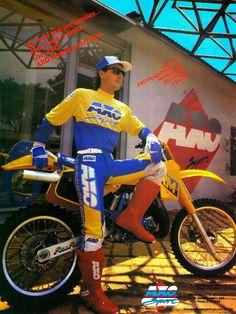 Axo Motocross Gear Throwback Ads '80s-'90s