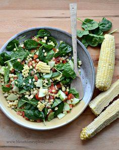 Sweet and Simple Fresh Corn Salad