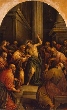 Ad Imaginem Dei: Iconography of the Resurrection – The Incredulity of St. Doubting Thomas, Christian Quotes, Christianity, Renaissance, Catholic, History, St Thomas, Pictures, Painting