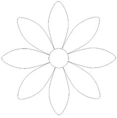 picture relating to Free Printable Flower Applique Patterns named 2242 Least complicated Sbooking flower suggestions illustrations or photos in just 2019