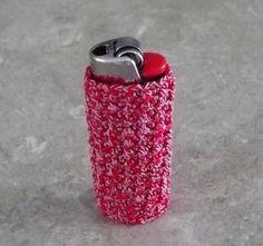 Lighter Case Crochet by cyicrochet on Etsy, $10.75