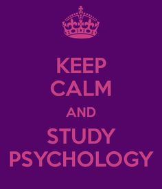 yet studying psychology is so not calming. haha.