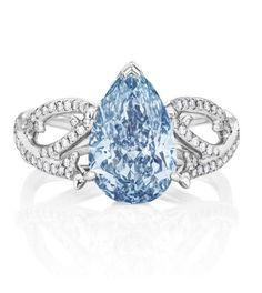 Le diamant bleu signé De Beers