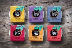 A Packaging Redesign for The Precious Pod Makes it a Standout Hummus — The Dieline - Branding & Packaging Design