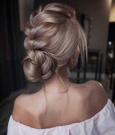 Frisuren Source Hair Styles, easy hairstyles, hairstyles for school, wedding hairstyles, hairstyles Braided Hairstyles For Wedding, Short Hairstyles For Women, Up Hairstyles, Braided Updo, Hairstyle Ideas, Wedding Updo, Hairstyle Photos, Hair Ideas, Vintage Hairstyles