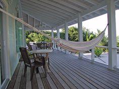 Hammock, front veranda