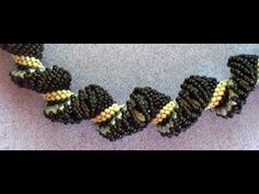Beaded Dutch Spiral Howto - YouTube