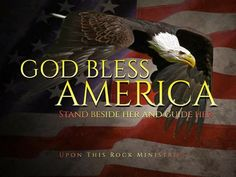 Let Freedom Ring, Psychic Mediums, God Bless America, Red And White, Blessed
