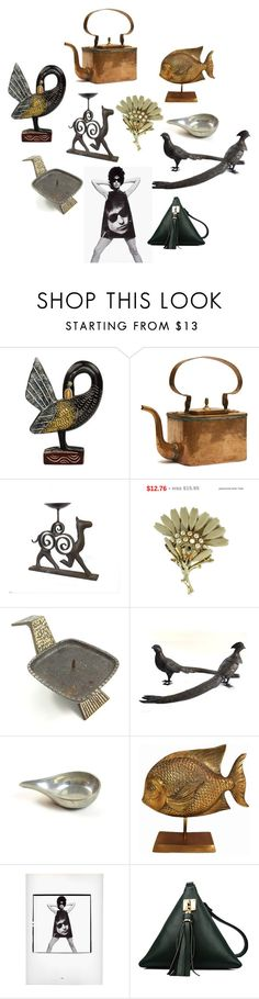 Great Shapes by patack on Polyvore featuring interior, interiors, interior design, home, home decor, interior decorating, NOVICA and vintage