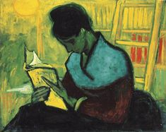 Vincent van Gogh,The Novel Reader, 1888