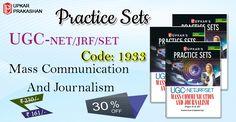 Practice Sets #UGC-NET/#JRF/#SET Mass #Communication And #Journalism (Paper-II & III ) Books. #UpkarPrakashan #EntranceExamBooks #OnlineNoteBooks