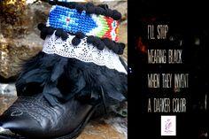ethnic bead strip & feathers idantite.itssoyou@gmail.com