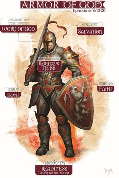 """Night of faith is a play on the words Knight of faith. Which means a person who places their total faith in God and themselves and can act freely and independently from the world.In the play Night of faith Sylvia encourages Henry to believe in """"Knight's of Faith"""" but he refuses. I believe that I can use some of the colors represented on the pictured Knights armor to represent """"Knight of faith"""""""