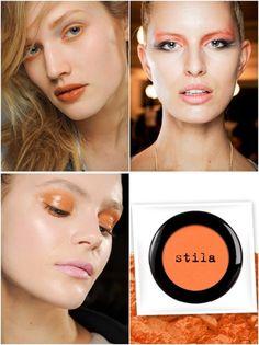 orange eyeshadow   Tumblr