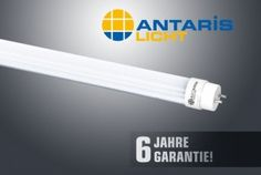 Antaris bietet überdurchschnittliche 6-Jahres-Garantie auf LED-Röhren