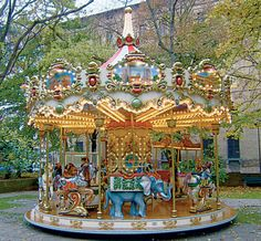 beautiful merry-go-round