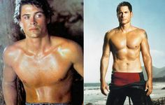 Rob Lowe | '90s Hunks Shirtless: Then & Now  Another one of those guys who just seems to get better with age