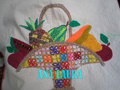 canastas de frutas bordadas - Google Search