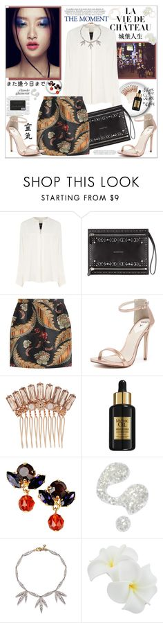 """""""Walking around Tokyo"""" by kitty-kat9 ❤ liked on Polyvore featuring Derek Lam, Givenchy, Dsquared2, Windsor Smith, Henri Bendel, L'Oréal Paris, VICKISARGE, Illamasqua, Lulu Frost and women's clothing"""