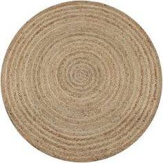 Products Handgefertigter Teppich Herman aus Jute in NaturWayfair. Diy Carpet, Modern Carpet, Rugs On Carpet, Sisal Carpet, Circular Rugs, Berber Carpet, Braided Rugs, Jute Rug, Patterned Carpet