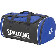 Bolsa Spalding mediana, ideal para llevar al hombro, dado que posee una tira ajustable, y acolchada, con varios compartimentos www.basketspirit.com/accesorios-baloncesto/Bolsas-Mochilas-Maletas-y-Portabalones