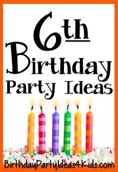 Fun ideas for a six year old birthday party. Themes, games, timeline, tips and party planning help to make a fun party for 6 year olds! ideas for 6 year olds 9 Year Old Girl Birthday, Boy Party Games, Girls Birthday Party Games, Birthday Activities, Birthday Themes For Boys, Birthday Party For Teens, Kids Party Themes, Birthday Fun, Birthday Ideas