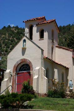 Mountain Chapel.  A small Catholic Church in Idaho Springs, Colorado.