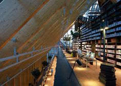 La montaña de los libros en Spijkenisse, Alemania