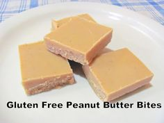 Peanut Butter Bites | Nourishing Minimalism. Ingredients are coconut oil, peanut butter and honey.